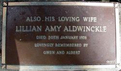 Lilian Amy Aldwinckle