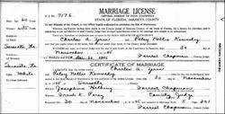 """Patricia Nellie """"Patsy"""" <I>Kennedy</I> Zerm"""