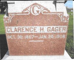 Clarence H Gager