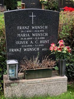 Αποτέλεσμα εικόνας για franz wunsch grave