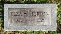 Elza Myrtle <I>Willis</I> Horton