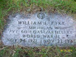 PVT William L Fyke