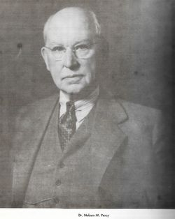 Dr Nelson Mortimer Percy