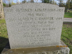 Alice Janet <I>Bryan</I> Armstrong