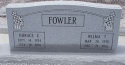 Wilma <I>Taylor</I> Fowler