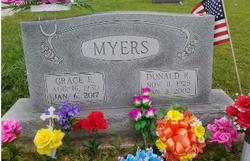Grace E. <I>Thomas</I> Myers