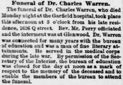 Dr Charles Warren