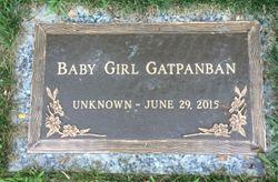 Baby Girl Gatpanban