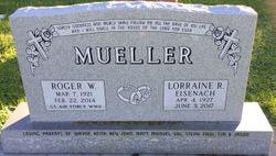Lorraine R. <I>Eisenach</I> Mueller