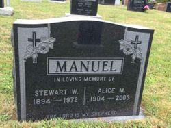 Alice Matilda <I>Boutilier</I> Manuel