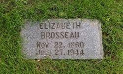"""Elizabeth """"Lizzie"""" <I>Leonard</I> Brosseau"""