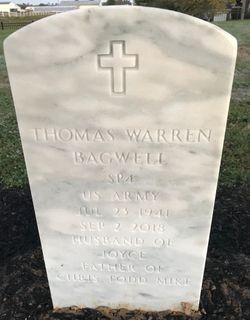 """Thomas Warren """"Tom"""" Bagwell"""