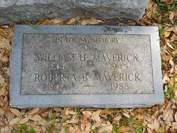 Roberta <I>Barrett</I> Maverick