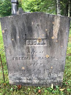 Susan <I>Foster</I> Haskins