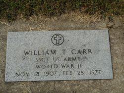 William Thomas Carr, Sr