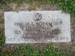 Philip E Boekhoff