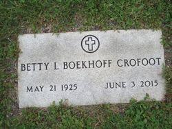 Betty L. <I>Johnson</I> Crofoot