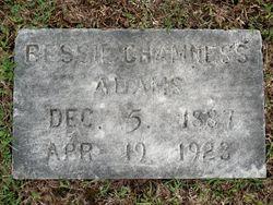 "Alice ""Bessie"" <I>Chamness</I> Adams"