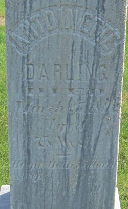 Esther Antoinette <I>Doolittle</I> Darling