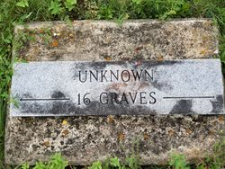 Unknown 16 Graves
