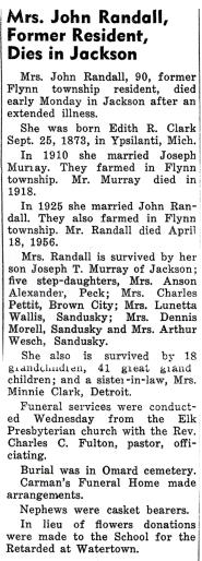 Edith R. <I>Clark</I> Murray Randall