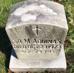 Sr M. Aquinas