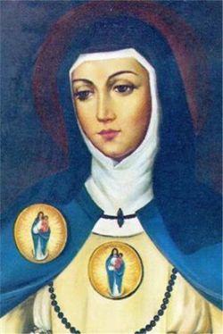 Sr María de Jesús de Ágreda María Coronel Arana