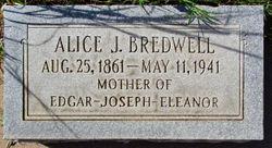 Alice J Bredwell