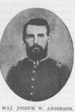 Maj Joseph Washington Anderson