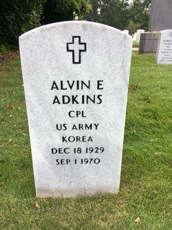 Alvin E Adkins