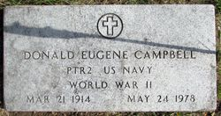 Donald Eugene Campbell