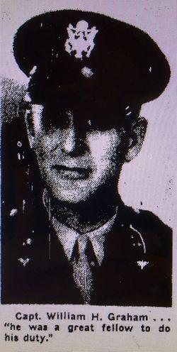 Capt William H Graham