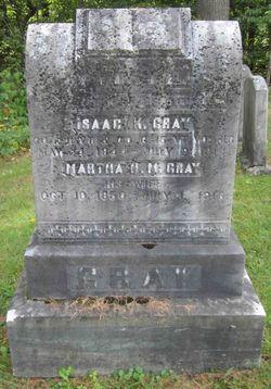 Martha Harriet Maria <I>Duntley</I> Gray