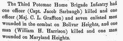 Capt Jacob Sarbaugh