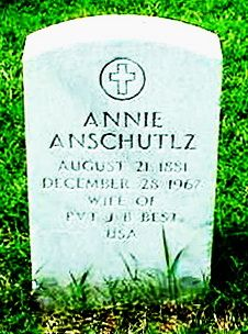 Annie Lea <I>Anschultz</I> Best