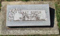 Violet Nellie <I>Gorrie</I> Shetler