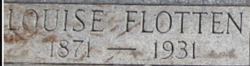 Louise <I>Flotten</I> Thompson