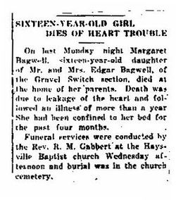 Margaret Bagwell