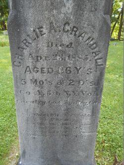 "Pvt Charles A ""Charlie"" Crandall"