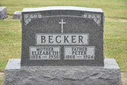 Elizabeth <I>Braegelmann</I> Becker