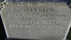 Martha Field <I>Miller</I> Heth