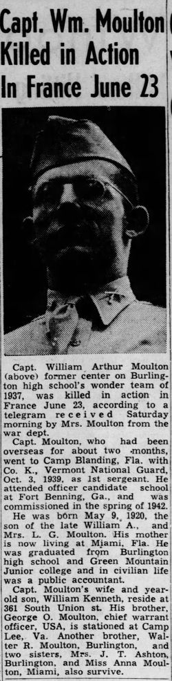 Capt William Arthur Moulton, Jr