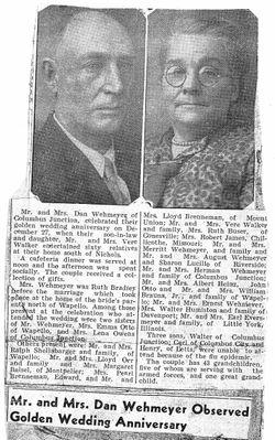 Ruth Mellvilla <I>Bradley</I> Wehmeyer
