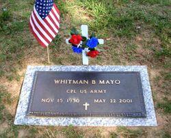 whitman mayo age at death