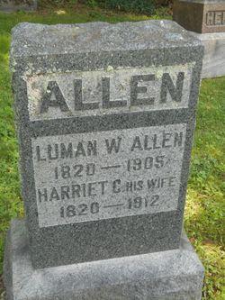 Harriet <I>Comstock</I> Allen
