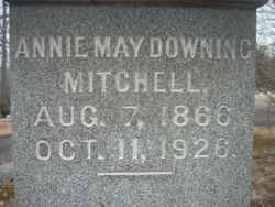 Annie May <I>Downing</I> Mitchell