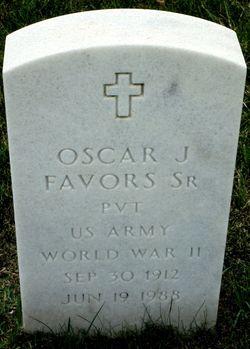 Oscar J Favors, Sr