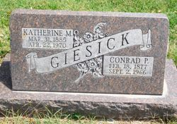 Katherine Margaret <I>Gies</I> Giesick