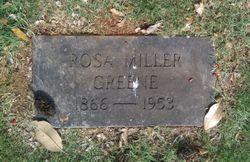 Rosa <I>Miller</I> Greene