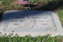 "Cordelia ""Cordie"" <I>Ellington</I> Harrison"